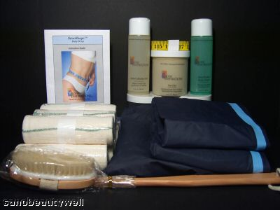 Home Body Wraps - Slimming Body Wraps for Detoxification and Inch Loss