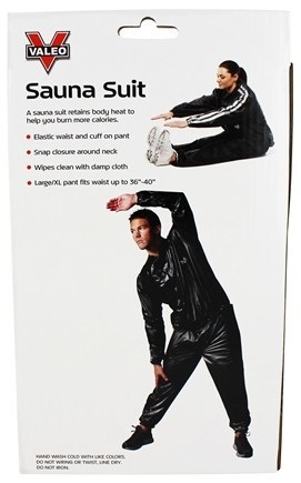 Valeo Heavy Duty Vinyl Sauna Suit For Weight Loss